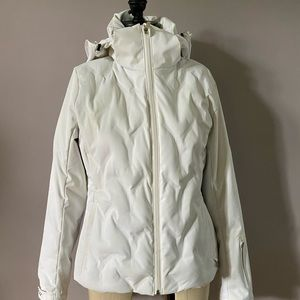 Nils goose down and feather ski jacket size 4